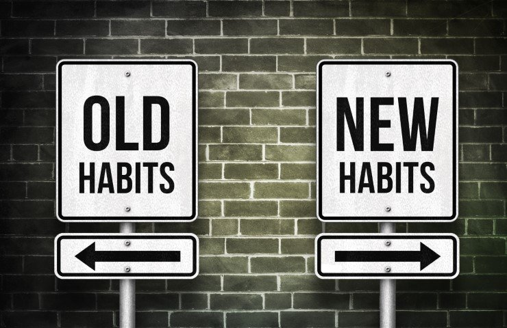 oude en nieuwe gewoonten